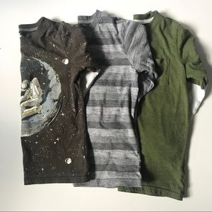 3 Carter's Long Sleeve Shirts